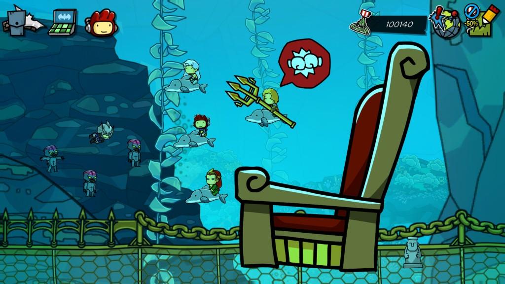 Scribblenauts Atlantis