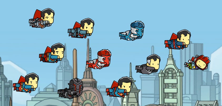 Scribblenauts Supermen