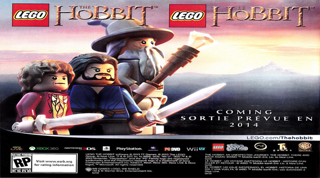 LEGO: The Hobbit announced for 2014.
