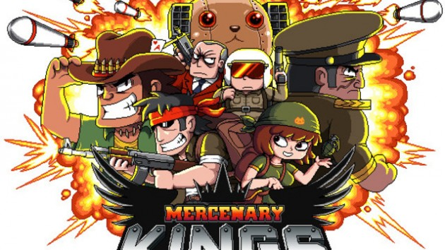 Mercenary Kings crafts weapons on PS4 this winter.