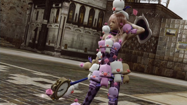 One of three new costumes available as DLC.