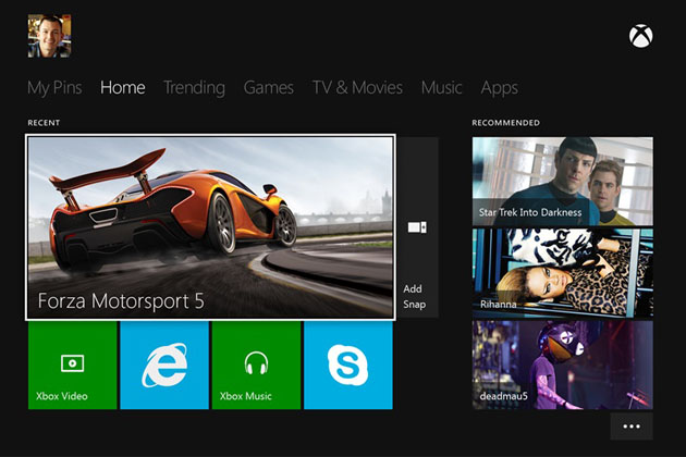 New video showing off Xbox One dashboard crops up on Youtube.