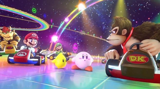 Mario Kart 8-Kirby