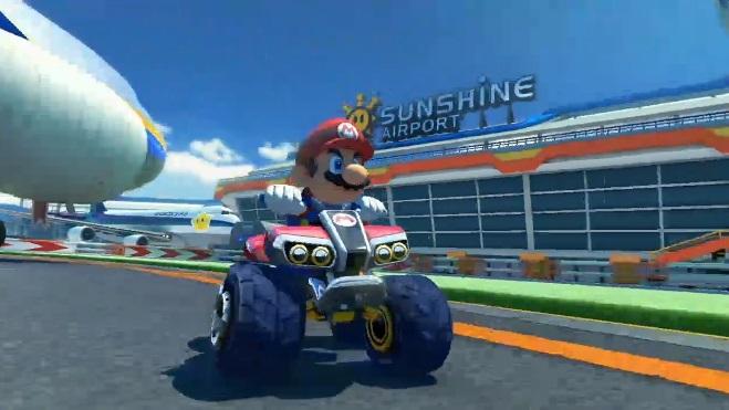Mario Kart 8-Sunshine Airport