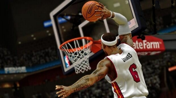 NBA 2K14 - LeBron Dunk