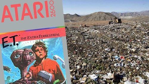 Did Atari really dump a ton of games into a New Mexico landfill?