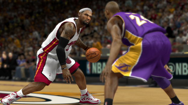 NBA 2K14 Lebron Cross