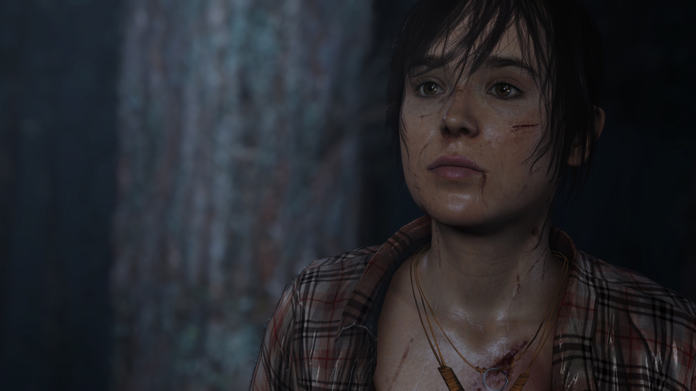 Page's character in Beyond Two Souls for the PS3