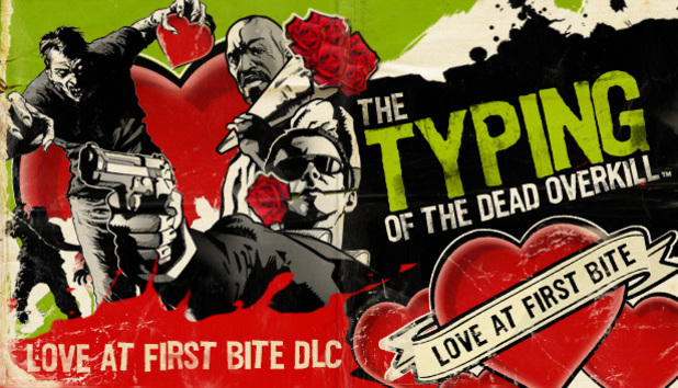 First bit of Valentine's Day DLC for Typing of the Dead: Overkill.