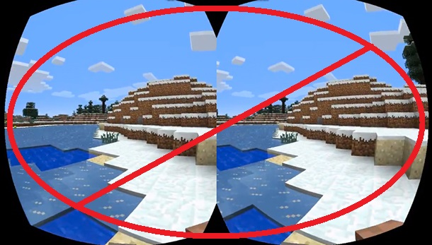 No Oculus Minecraft