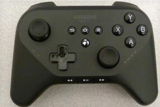 Rumored Amazon controller surfaces in photos.