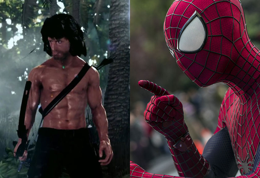 GGR-685-Rambo--The-Video-Game-&-The-Amazing-Spiderman-2