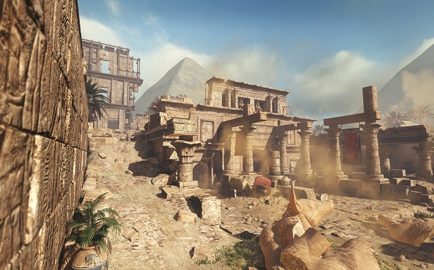 Invasion DLC pack includes four new stages, such as Pharaoh, pictured above.