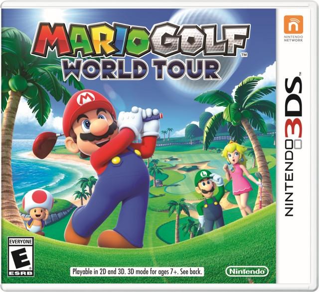 Mario Golf World Tour - box