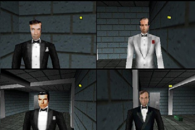 Can you play as four Bonds in GoldenEye?