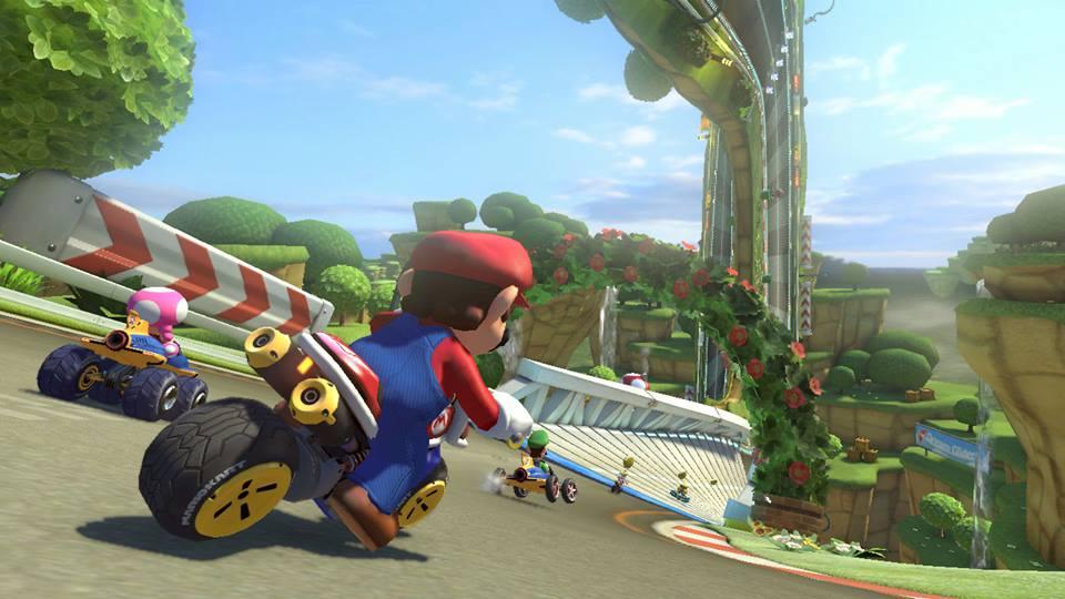 Test drive Mario Kart 8 at GameStop.