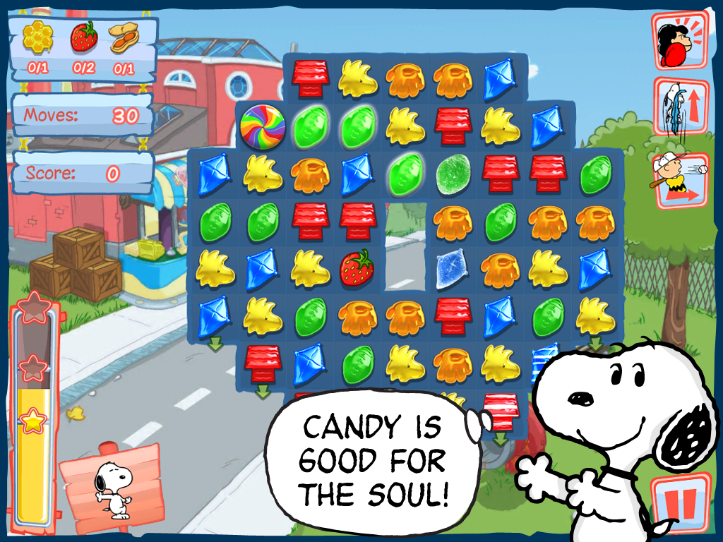 Help Snoopy find his missing sister in new Peanuts game.