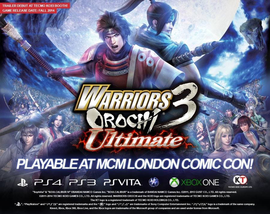 Warriors Orochi 3 Ultimate Comes to Next-Gen Consoles This Fall