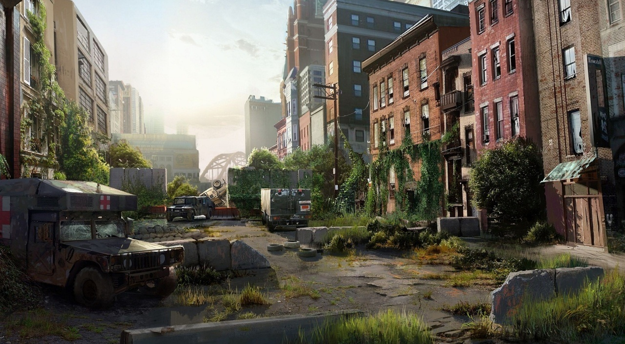 Naughty dog artists have reimagined some real life locations from all