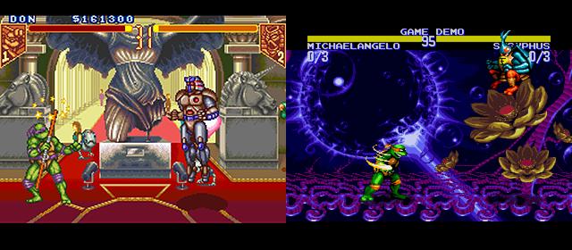 TMNT: Tournament Fighters (SNES) vs TMNT: Tournament Fighters (Sega Genesis)