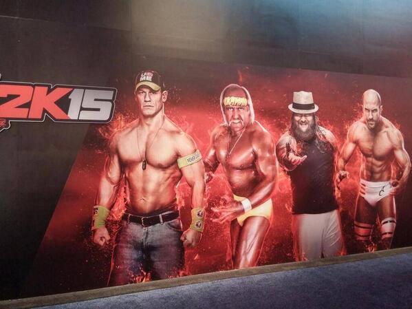 WWE 2K15 Banner