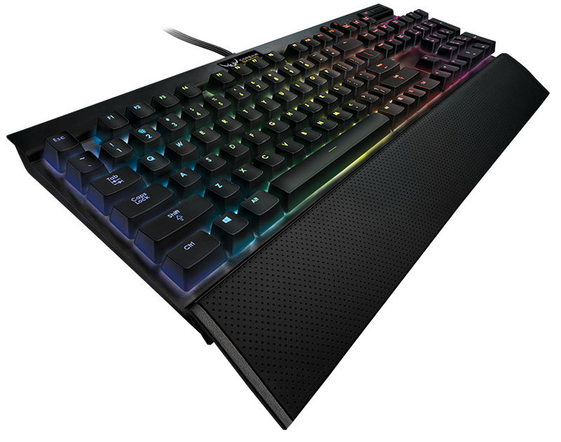 The Corsair K70 RGB keyboard is one of the best gaming keyboards currently on the market.