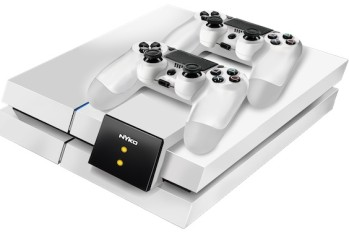 Nyko's PS4 Modular Charge Station comes in black or glacier white.