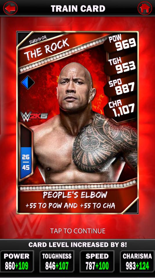 WWE Supercard matchmaking