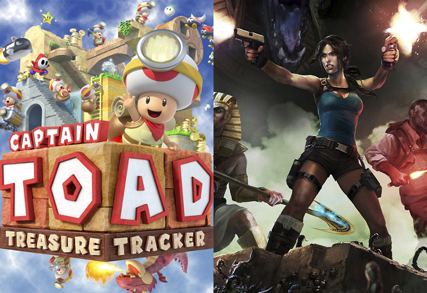 GGR 877 – Captain Toad Treasure Tracker & Lara Croft and the Temple of Osiris