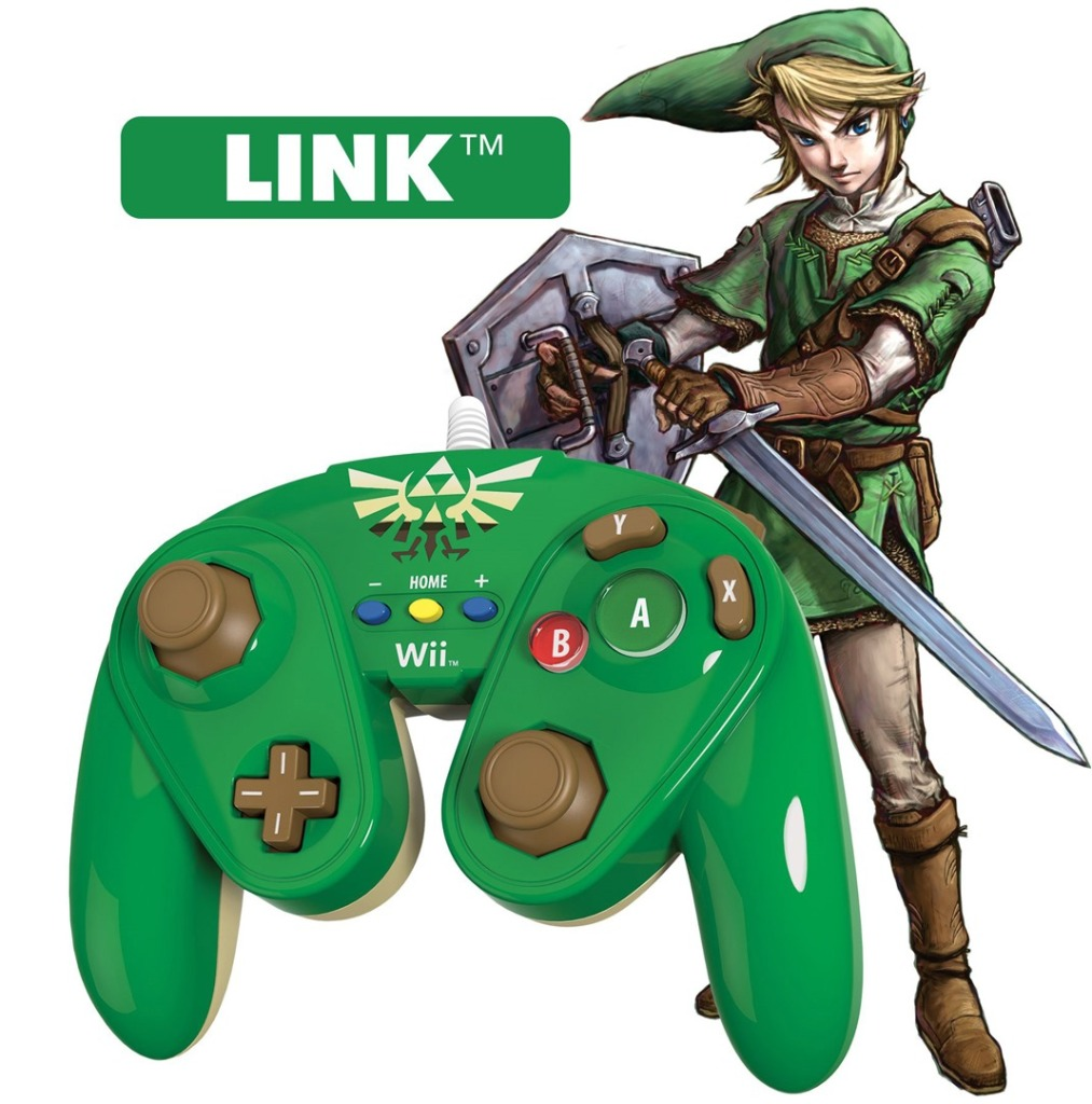 PDP Announces Cool Nintendo GameCube-Style Controllers for Wii U