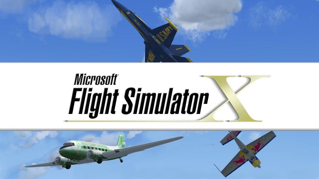Microsoft Flight Simulator X Landing on Steam Next Week
