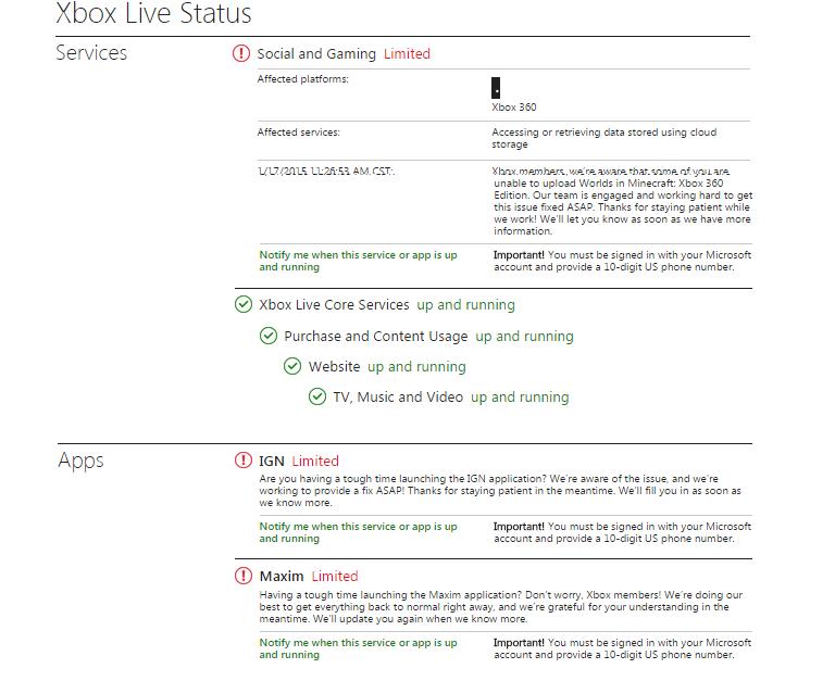 xbox live status - photo #22