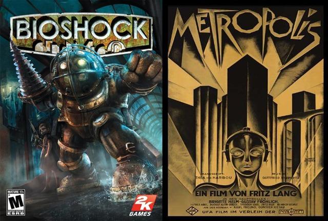 Boxart - Bioshock/Metropolis