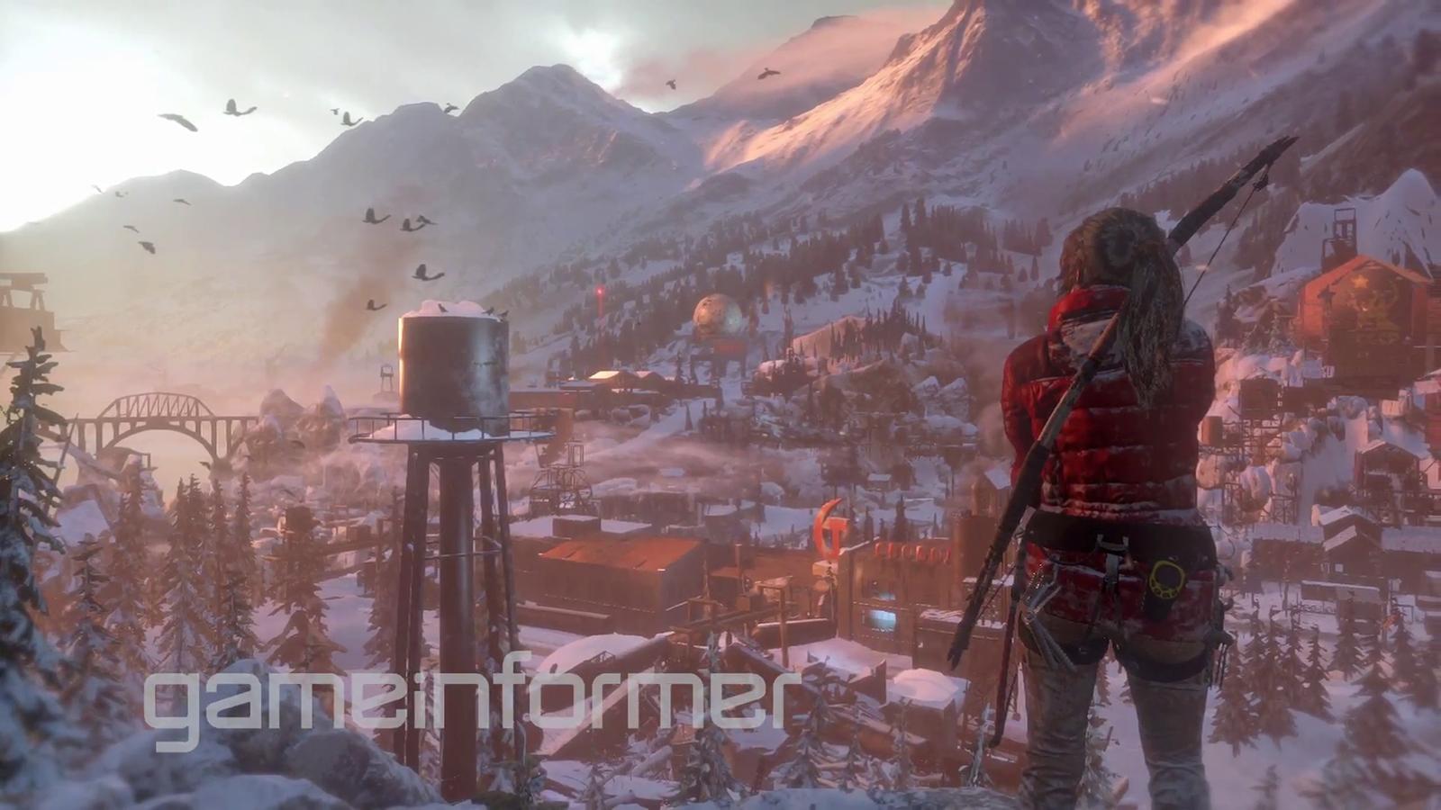 Rise of the Tomb Raider Will Explore Siberia - First Screenshots