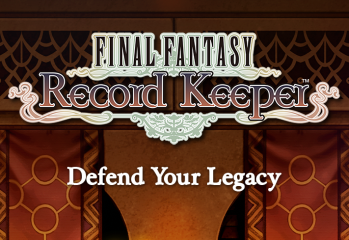 Final Fantasy_ Record Keeper - title screen