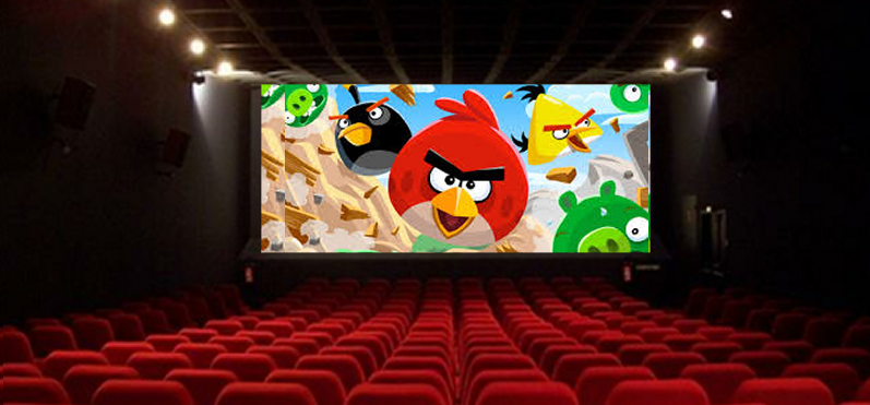 angry birds theater