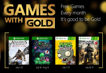 Xbox Games with Gold Revealed for July 2015