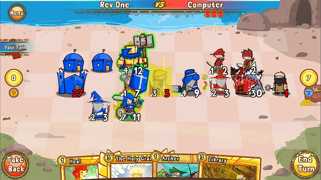 Cards and Castles - Gameplay