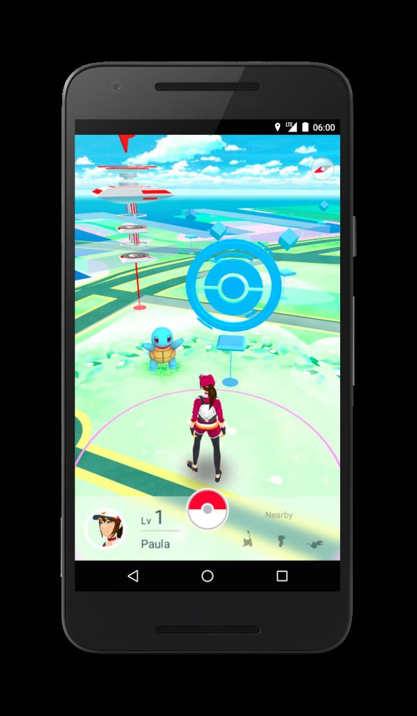 Pokémon Go device 3