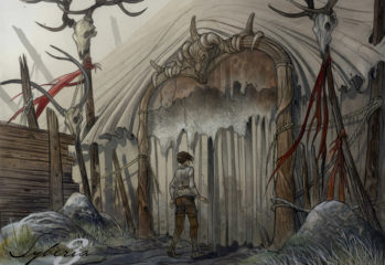 Syberia3_artwork02_Camp_entrance