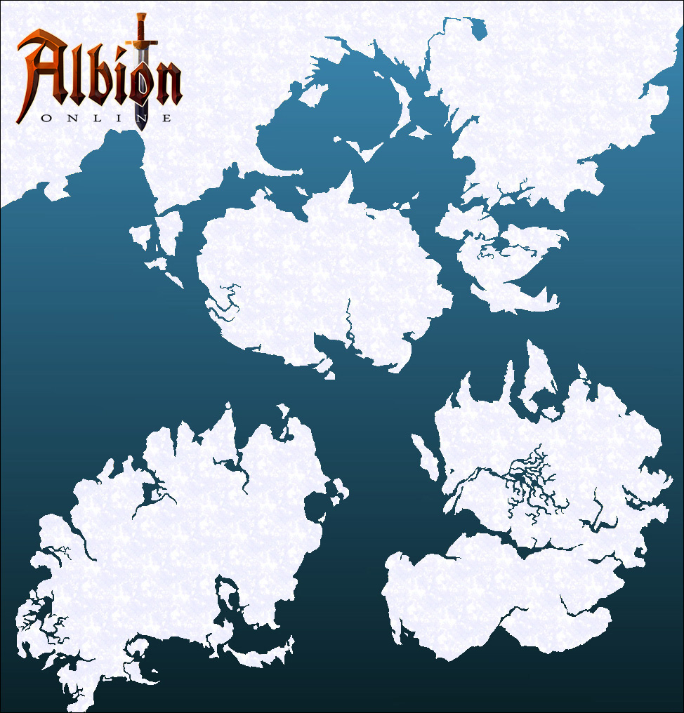 AlbionOnline_New World Blank Map
