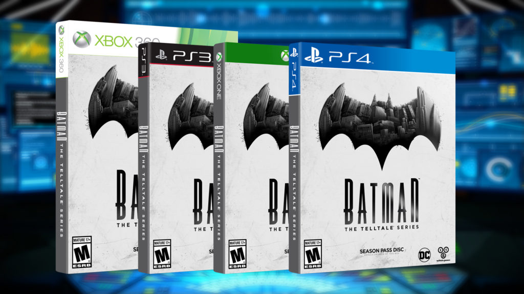 BATMAN - The Telltale Series Box Art