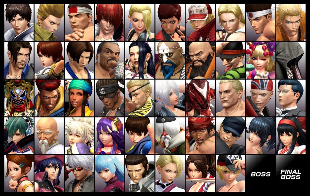 KOF XIV - 50 Characters