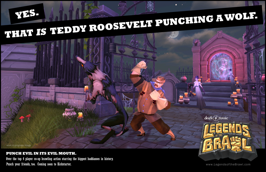 teddy_punches_a_wolf