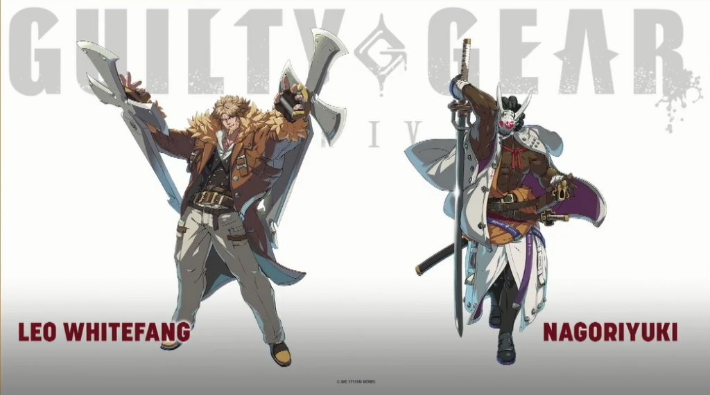 Guilty Gear -Strive- characters