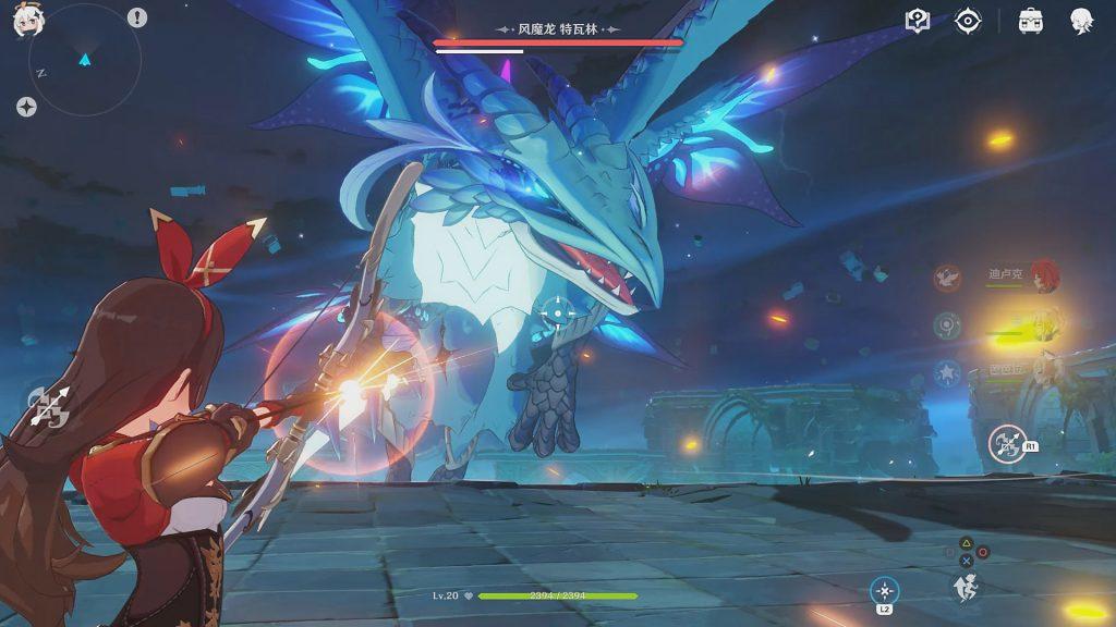 Genshin Impact Combat